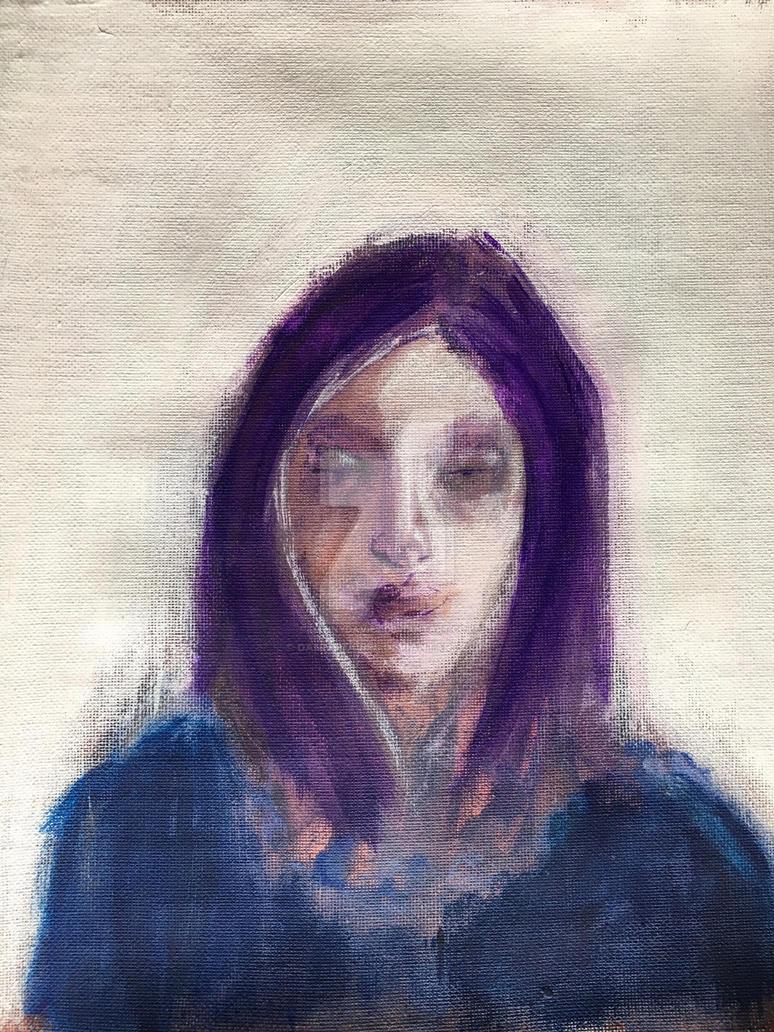 'Violet / White' by dannydavies