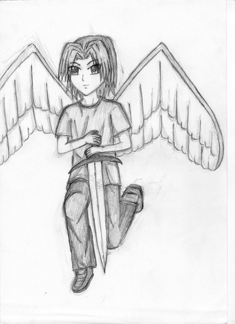 Male angel guardian by sebryu on DeviantArt