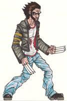 Wolverine by Grigori77