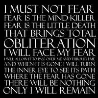Dune: Litany Against Fear by Grigori77