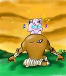 Hitmonlee and Jigglypuff by Dressxd