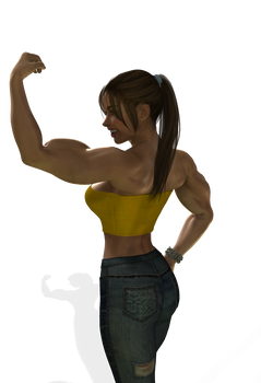 Study for Muscle Girl