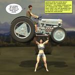 Super Strong Farm Girl