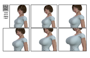 Breast Expansion, Tight Tee by Lingster