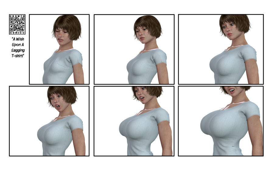 Breast Expansion, Tight Tee