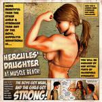 Hercules' Daughter At Muscle Beach!