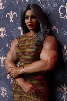 Beautiful Muscular Woman