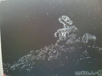 Wall-E Poster Hand-Drawn by ClassicTeam