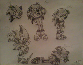 Sonic's Long Day... by ClassicTeam