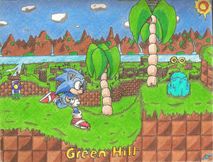 Sonic - Green Hill Remastered