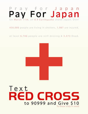 Pray For Japan, Pay For Japan