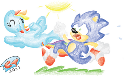 Sonic Vs. The Rainbow