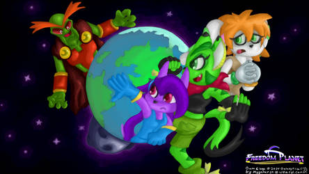 Freedom Planet Wallpaper - Free The Planet!