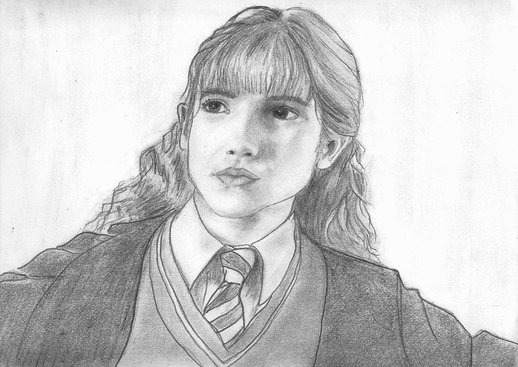 Brooding Hermione by curiousused