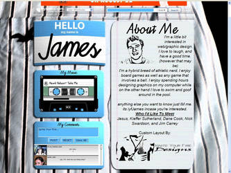 Hello My Name Is: James