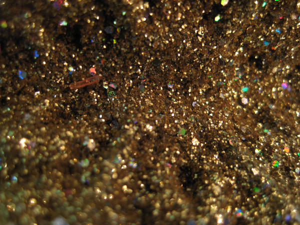 Gold Glitter 2