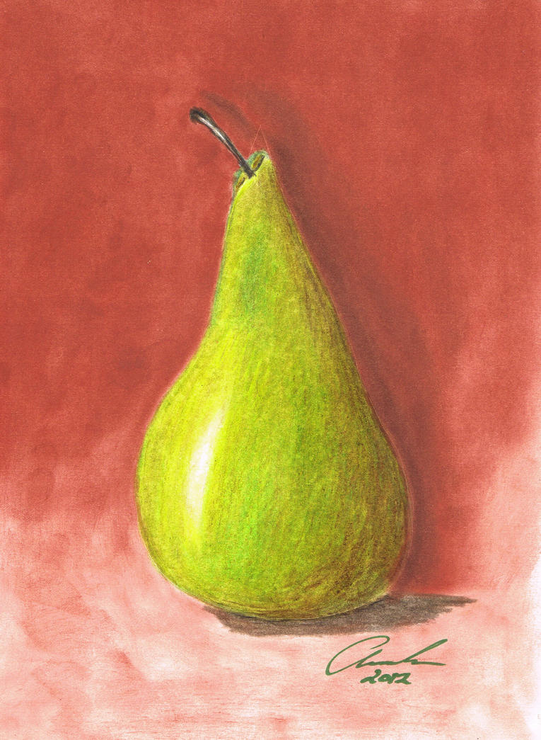 Pencil Pear by Abaez40