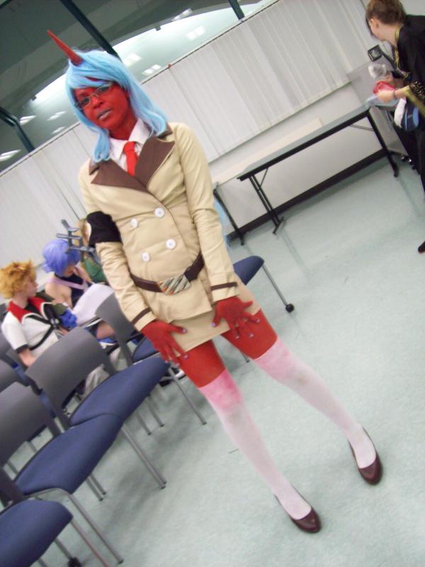 Kneesocks - Animethon18 by Banished1
