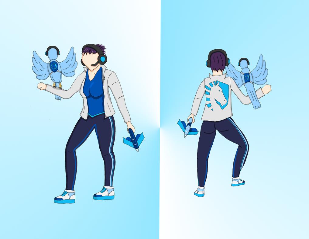 Team Liquid Quinn by QuinnCrystal