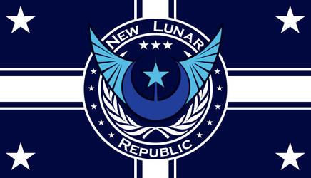 New Lunar Republic Flag by JakobTheJ
