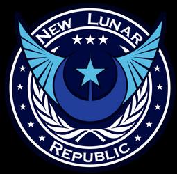 New Lunar Republic Coat of Arms by JakobTheJ