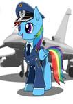 Leutnant Rainbow Dash Luftwaffe