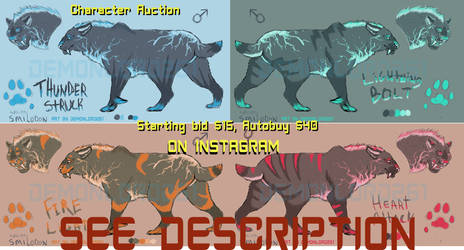 Electric Saber Adopts: Auction!