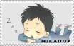 Mikado Stamp by Moerika