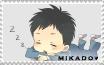 Mikado Stamp by Moerika