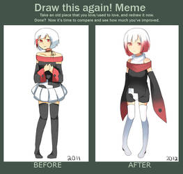 Before After Meme by Moerika