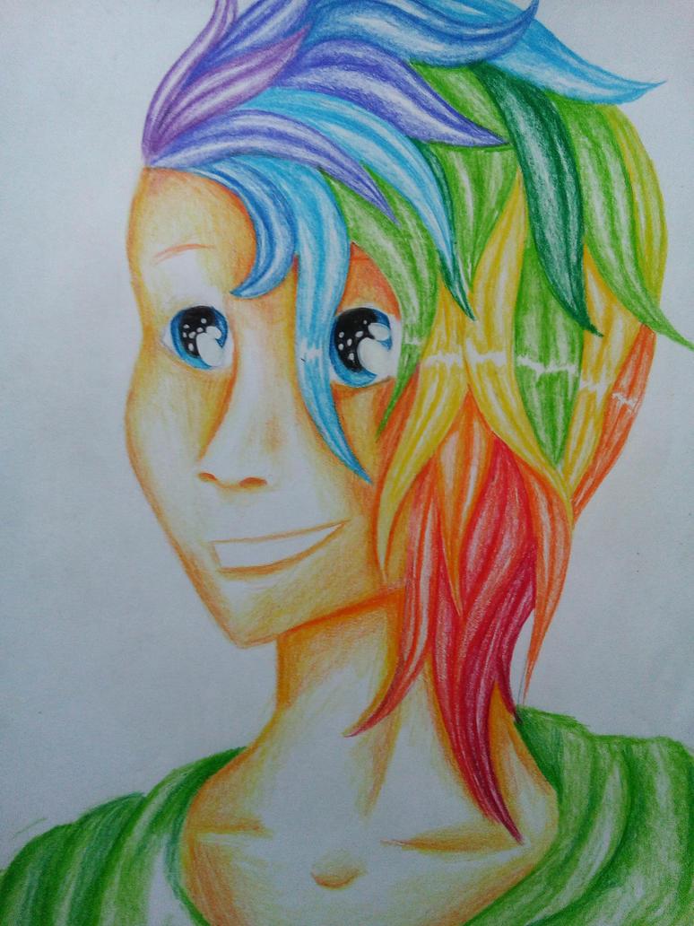 Rainbow~~!! by STIAK