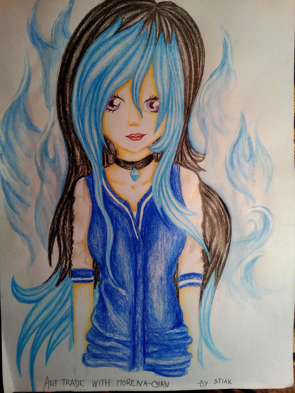 AT: Morena-chan by AuroraAkkaris