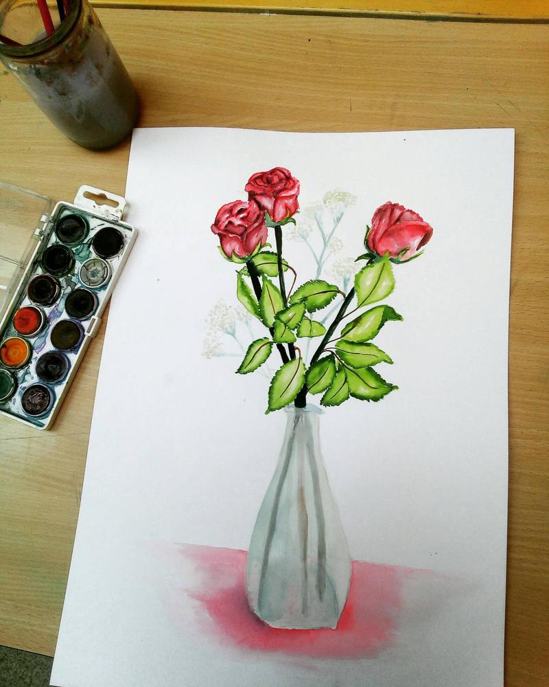 Roses are red by AuroraAkkaris