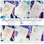 [OPEN] COMMISSIONS: Sketches by Nautileen