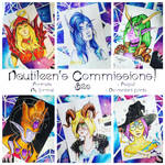 Full color portraits $20 by Nautileen
