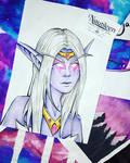 Lady Azshara  by Nautileen