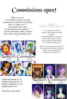 COMMISSIONS OPEN! [POINTS/PAYPAL] by Nautileen