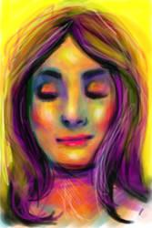 Bright Eyelids by aru-lover