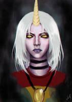 Soraka - League of Legends by VickyInu