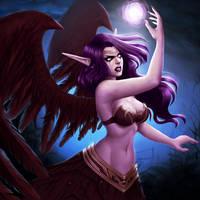 Morgana - League of Legends by VickyInu