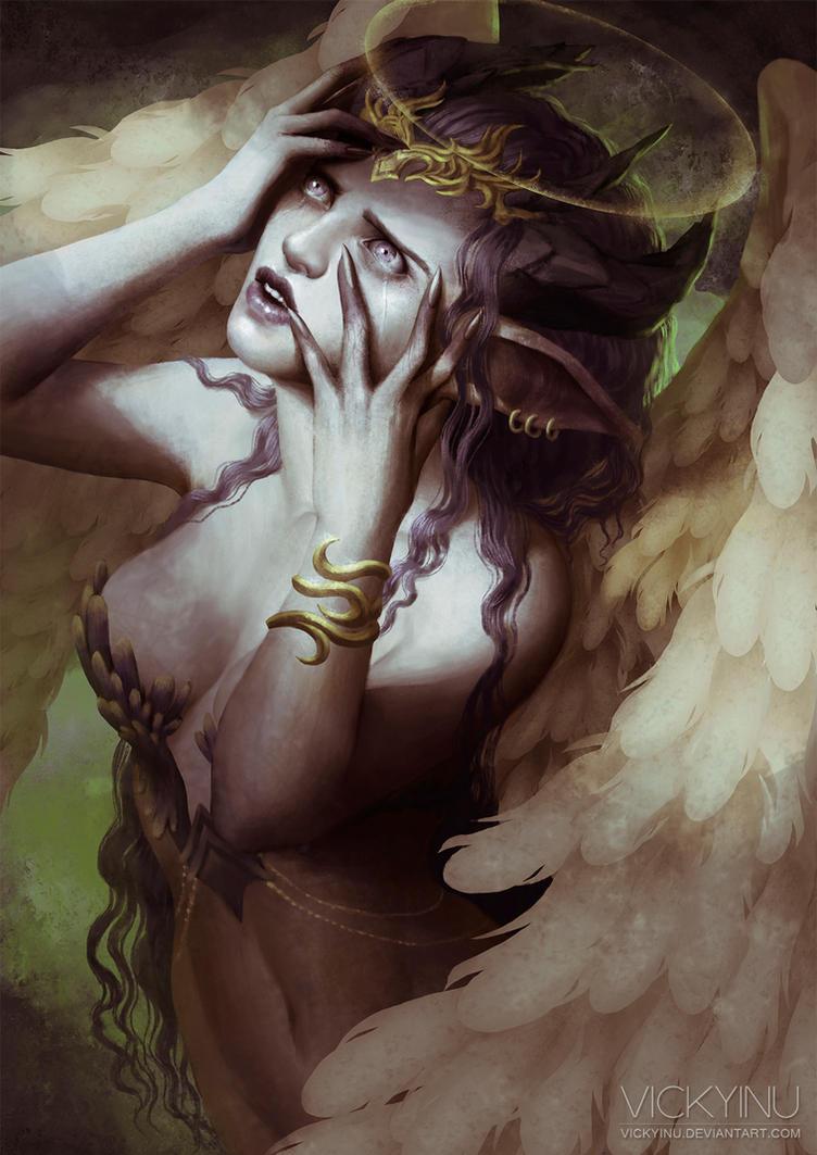 Agony by VickyInu