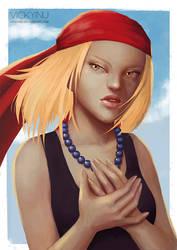 Anna - Shaman King by VickyInu