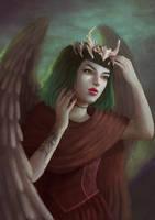 Angel by VickyInu