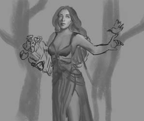 Sketch by VickyInu