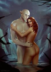 CM - Solas and Eva by VickyInu