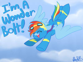I'm A Wonderbolt!!~ by BefishProductions
