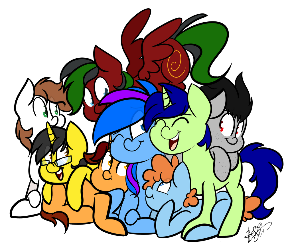 All the OCs (Commission) by BefishProductions