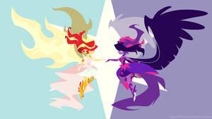 Midnight Sparkle v. Daydream Shimmer