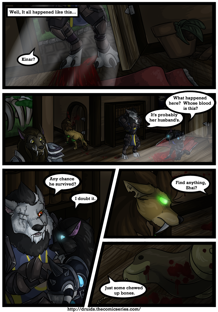 Druids Comic - An Adult Furry Webcomic - Quest Giver