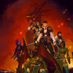 Pathfinder party the new adventures!
